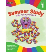 Summer study daily activity workbook: Grade 1 by Flash Kids Editors