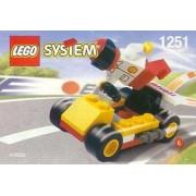 Lego City Mini Figure Set #1251 Dragster