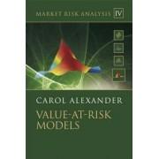Market Risk Analysis: Value at Risk Models by Carol Alexander