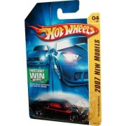Mattel Hot Wheels 2007 New Models Series 1:64 Scale Die Cast Metal Car # 4 of 36 - Black Classic Sport Coupe 1969 Ford Mustang with Fun Fact #4 by Hot Wheels