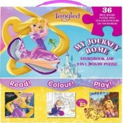 Disney Princess Tangled My Journey Home by Parragon Books Ltd