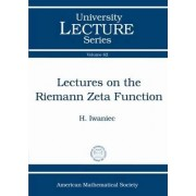 Lectures on the Riemann Zeta Function by Henryk Iwaniec