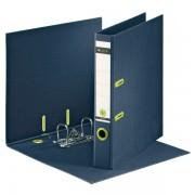 Biblioraft carton reciclabil Re:cycle, 50mm, albastru
