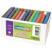 Chenille Kraft Company CKC338000 Glitter Glue Pens-Resealable-Assorted