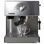 Magimix L'expresso 11411 - Machine à café avec buse vapeur Cappuccino - 19 bar - Chrome mat