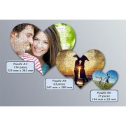 Puzzle Inima personalizat