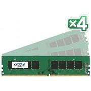 Crucial CT4K4G4DFS8213 Memoria RAM da 16 GB, C15, 1.2 V, DDR4, 2133 MT/s, Nero