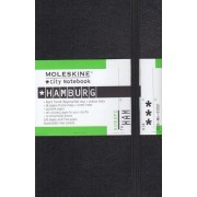 Moleskine City Notebook HAMBOURG Couverture rigide noire 9 x 14 cm