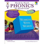 Month-By-Month Phonics for Second Grade by Patricia M Cunningham