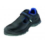 elysee Arbeits-/ Sicherheits Sandalen S1P, Farbe schwarz/blau, Gr.38