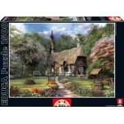 Educa Puzzle Rose Cottage, J. D. Davison 1500 de piese 15165 colorat