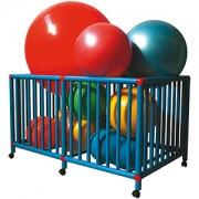 Ledraplastic - Gym Cart - klietka na fitlopty
