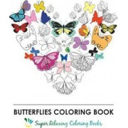 Butterflies Coloring Book by Individuality Books