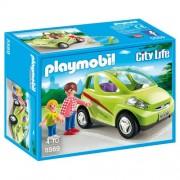 Playmobil - 5569 - Jeu De Construction - Voiture De Ville Avec Maman