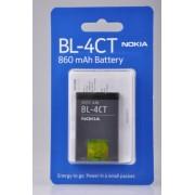 Acumulator Nokia BL-4CT 860mAh Li-Polimer, 2720 Fold, 5310 XpressMusic, 5630 XpressMusic, 6600 Fold, 6700 Slide, 7210 Supernova, 7230, 7310 Supernova, 5220 XpressMusic, 6303 Classic, X3, Blister