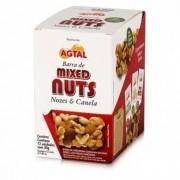 Barra de Mixed Nuts - Nozes e Canela - 12unid - Agtal