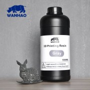 Wanhao 3D-Printer UV Resin - 1000 ml - Grå