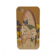 Funda Protector Mobo Apple Iphone 4/4s Mickey Surf/Café