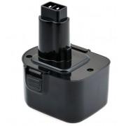 Batería herramienta inalámbrica 12V 1.5Ah Black & Decker A9252,A9275 PS130, PS130A Nicd