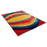 Hoogpolig vloerkleed, TOM TAILOR, »Soft Funky«, hoogte ca. 40 mm, handgetuft, reliëfeffect
