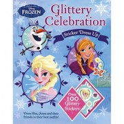 Disney Frozen Glittering Sticker Dress Up by Parragon
