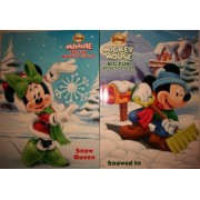 Mickey & Minnie Big Fun Books To Color - Snow Queen & Snowed In (Paperback)