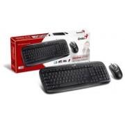 Tastatura + miš SlimStar C110 USB Black Srb CB Genius