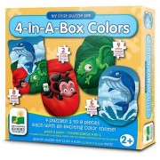 The Learning Journey My First Puzzle Sets 4-In-A-Box Puzzles Colors