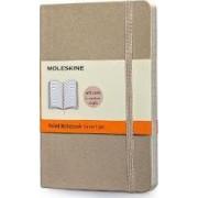 Moleskine Soft Cover Khaki Beige Pocket Ruled Notebook by Moleskine