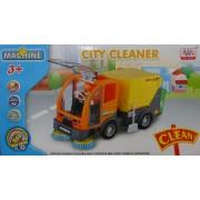 City Clean Seprőgép világítós zenélős önműködő autó No.WS8336 - Gyerek játék
