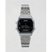 Casio Цифровые часы мини с черным циферблатом Casio LA680WEA - Черный