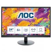 """AOC E2470swda 23.6"""" Full Hd Tn+film Opaco Nero Monitor Piatto Per Pc 4038986143820 E2470swda 10_0g30162"""