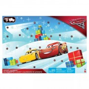 Cars 3 Advent Calendar with 5 Movie-themed Vehicles FGV14