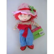Strawberry Shortcake Plush Toy - 9in Small Stuffed Animal by Kelly Toy