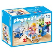 Playmobil Hospital Childrens Sickroom With Baby Bed And Nurse