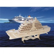 Cruise Ship 3d Puzzle - 71 Pieces