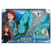 Disney Princess Merida Doll & Toddler Dress Gift Set by Tollytots Limited