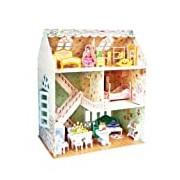 Dreamy Doll House: 3D Puzzle Cubic Fun Doll's House Puzzle 160 p 'ces P645h 8 +