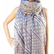 RAYFLECTOR Dámský barevný vzorovaný šátek