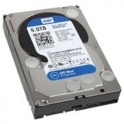 HDD 6TB Western Digital Blue, 3.5 inch, SATA3, 5400rpm, AF, 64MB, WD60EZRZ