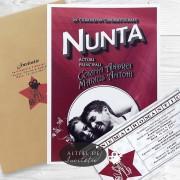 Invitatie nunta Star de cinema 009