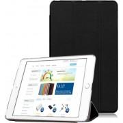 Apple iPad Air 2 Siliconen Case met Smart Cover, hoes voor bescherming voor- en achterkant, 2 in 1 hoesje (niet voor iPad Air 1, alleen voor iPad Air 2), zwart , merk i12Cover