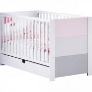 Sauthon meubles Lit little big bed 70x140cm city rose