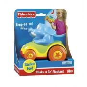 Fisher-Price - N5968 - de juegos por edades temprana para la Educación - Elephant Shake'n'Go (Mattel)