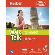 Walk & Talk Italienisch Hörkurs, 4 Audio-CDs + MP3-CD + Begleitheft