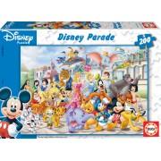EDUCA 13289 PUZZLE CARDBOARD Disney paradă 200 bucăţi 40*28 cm