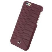 Husa de piele originala Mercedes-Benz pentru Apple iPhone 6/6s, Red