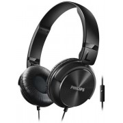 Casti Stereo Philips SHL3065BK, Microfon (Negru)