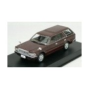 1/43 DISM Y30 Cedric van late type V20E Deluxe ['91] (dark reddish brown) (japan import)
