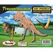 Puzzled T-Rex 3D Jigsaw Puzzle - 28-Piece 13 X 3 X 9.5